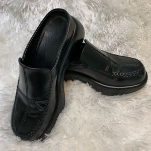 Dansko Size 37 Black Stitched Leather ProXP Clog